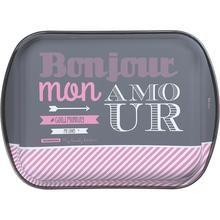 Assadeira Tramontina Funda 28cm My Lovely Kitchen - Rosa, Branco e Cinza