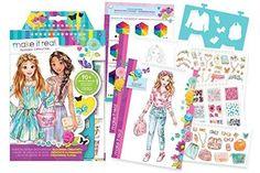 Fashion Design Sketch Book: Blooming Creativity Flower Crown Flower Headband Craft for Kids