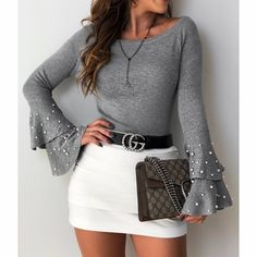 Cute fashion outfits ideas – Fashion, Home decorating Winter Fashion Outfits, Cute Fashion, Look Fashion, Fall Outfits, Autumn Fashion, Summer Outfits, Womens Fashion, Mode Outfits, Trendy Outfits
