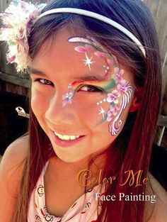 Rainbow face painting face painting ideas for kids