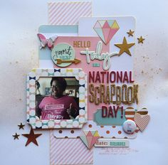 National Scrapbook Day 2015!