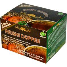 Longreen Corporation, Reishi Coffee, Reishi Mushroom