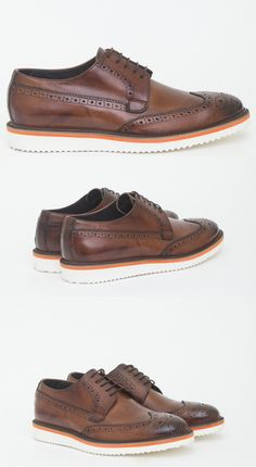 Classic or Athletic? Go for both with this Oxford style leather derby shoes from Antony Morato.  #AntonyMorato #Derby #LeatherShoes
