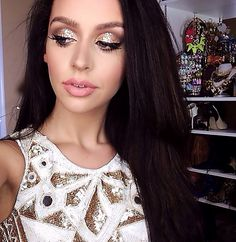 New Year's Eve/Holiday Party Makeup Tutorial 2015