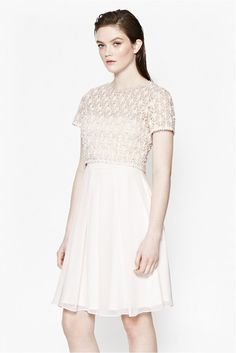 French Connection Kristal Lace Layer Dress