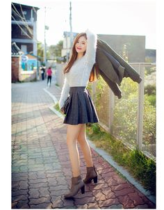 korean fashion - ulzzang - ulzzang fashion - cute girl - cute outfit - seoul style - asian fashion - korean style - Chuu fashion