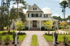 The wide welcoming front porch of the Camellia opens into a grand living space with a beautiful kitchen and eating area. There is a side entrance into a separate mudroom laundry room with lovely windows and plenty of light.The Master suite has a spacious bath with luxurioussoaking tub and a relaxing walk in shower. This [...]