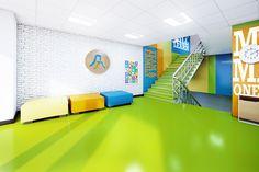 Adıgüzel Elementary School Lobby II on Behance
