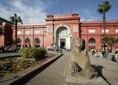Egyptian Museum in Cairo contains the world's most extensive collection of pharaonic antiquities; no visit to Egypt is complete without a trip through its galleries. The original collection was established in the late 19th century under Auguste Mariette and housed in Boulaq.