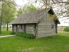 A replica of Laura Wilder Ingalls home.