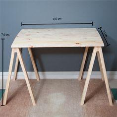 Mesa de cavaletes - Tadah