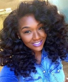 awesome Beautiful Curls on Long Natural Hair IG:Chigirlmakeup  Pelo Natural, Long Natural Hair, Natural Curls, Natural Hair Wedding, Wedding Updo, Curly Hair Styles, Natural Hair Styles, Wand Curls, Natural Hair Inspiration