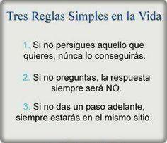 Tres simples reglas ... #desarrolloprofesional