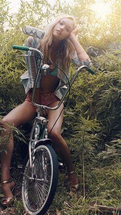 Gemma Ward #summer #surf #style