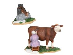 Milking the cow, set of 2 - 601526 -