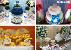 Confira 20 fotos de dicas de decoração de festa de 80 anos para homens e mulheres. Muitos modelos de bolos, convites e lembracinhas para se inspirar!