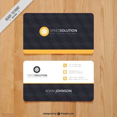 Business card template cdr business cards pinterest card free business card templates by businesscardjournalcom reheart Images