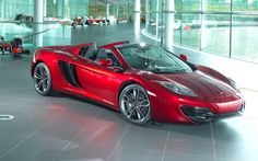 Carbon Fiber 2013 McLaren 12C Spider Graces Neiman Marcus Annual Christmas Book