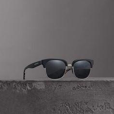 6eb5d45321 Burberry Top Bar Detail Pilot Sunglasses  Mensaccessories
