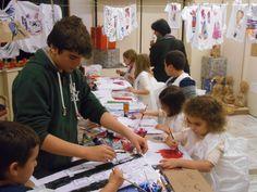 Work in progress... Moda&Fantasia - laboratorio artistico per bambini - Boutique Anna Meglio