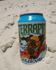 Got our toes in the water cans in the sand not a worry in the world a cold beer in our hands. Life is good today!  Close enough @zacbrownband?! #Georgia #drinklocal #beachday #TakeTerrapin #GeorgiaBeer #georgiamusic