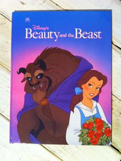 Disney's Beauty and the Beast- A Golden Book- 1991