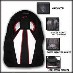 Akando Skydiving Rig Replica Daily Backpack