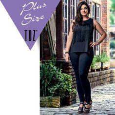 Plus também fica um charme com franjas. Blusa Plus Size da nova coleção Inverno 2016 TDZ. Programe a coleção para a sua loja. Sinta-se bem, use Tendenza.