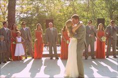 Same dresses ... Wedding Angels Boutique ...  Bari Jay  Sautee Nacoochee Vineyards Wedding by Ashley Ryan Photography  Read more - http://www.stylemepretty.com/georgia-weddings/2012/08/02/sautee-nacoochee-vineyards-wedding-by-ashley-ryan-photography/