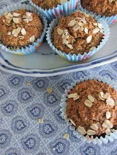 Healthy Oatmeal Muffins Recipe from Bren Did