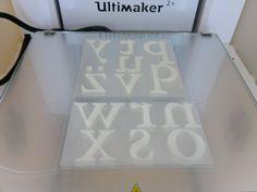 Ook deze platen gaan in een drukpers worden gebruikt.