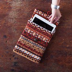 Fireside Tablet Cover pattern by Stana D.Sortor