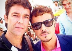 Mariano Martinez (Tomas Ortiz) y Tomas Fonzi (Maximo Ortiz)