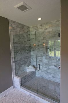 80 stunning tile shower designs ideas for bathroom remodel (71)