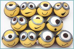 despicable me minion cupcakes cupcakepedia