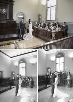 Wedding day. Wedding photos in old court house. champagne sequin bridesmaid dresses. Vintage style | pink little notebook