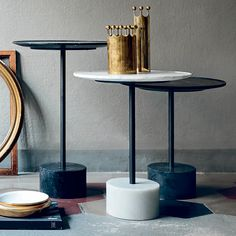 Italian interior design brand, Cassina, have been manufacturing high-end furniture since Discover collections by Charlotte Perriand, Piero Lissoni & more. Contemporary Side Tables, Modern Side Table, Table Furniture, Furniture Design, Furniture Ideas, Mens Bedding Sets, Dining Table Sizes, Italian Interior Design, Sofa Tables