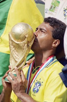 NUMBER 9-ROMARIO Second most prolific goalscorer in history of the game,Romario was devastating in front of goal.Not winning Champions League is his big flaw,but he did leave his mark when needed the most,winning a World Cup with Brazil in 1994.Forming a deadly partnership with Ronaldo,injury perhaps prevented him winning another World Cup in 1998...Not very humble,but still a wonderful player :)
