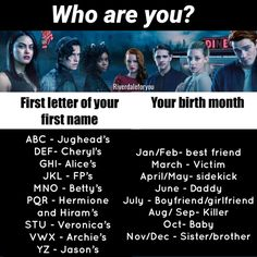 #riverdaleforyou - I'm Jughead's sister *and Betty's sister-in-law ;)