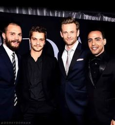 The men of Fifty Shades Darker