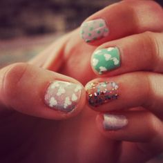 Got bored and done my nails!:)