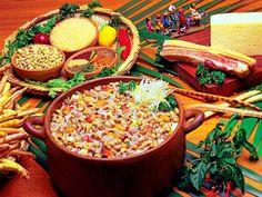 La gastronomía de Brasil es el resultado de muy diversas influencias culturales: indígenas, africanas, portuguesas, italianas, alemanas, árabes.
