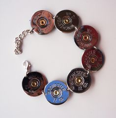 shotgun shell bracelet.... hmmm, Ty needs to fire off a couple rounds so I can make this, or better yet let me fire off a couple