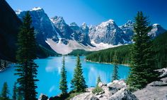 From Toronto to Montreal, Vancouver to Ottawa, the Yukon to the Canadian Rockies, these are 10 best cities and places to visit in Canada Banff National Park, National Parks, Murals Your Way, Moraine Lake, Us Destinations, Tourist Places, Environmental Graphics, Canadian Rockies, Tatoo