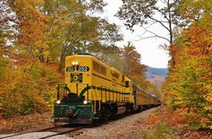 www.conwayscenic.com.  The Notch Train during Fall Foliage.  Thanks to Bill Willis for this photo!
