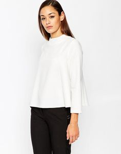 ASOS+Funnel+Neck+Swing+Top