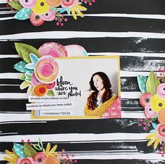 She Blooms collection by Bella Blvd Illustrated Faith