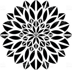 great illustration of Ornaments Mandala Floral Silhouettegreat Ornamenten Mandala-Blumen-Silhouette Lizenzfreies vektor illustration The post great illustration of Ornaments Mandala Floral Silhouettegreat appeared first on Blumen ideen. Mandala Art, Stencils Mandala, Mandala Floral, Geometric Mandala, Mandalas Drawing, Mandala Tattoo Design, Mandala Pattern, Geometric Designs, Geometric Tattoo Pattern
