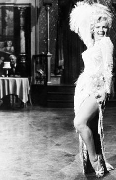 Marilyn Monroe in There's No Business Like Show Business (1954).