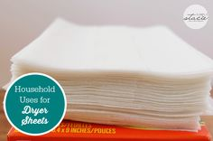 Household Uses for Dryer Sheets